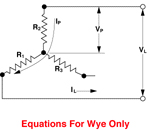 3-Phase Wye (Balanced Load)