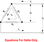 3-Phase Delta (Balanced Load)