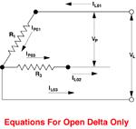 3-Phase Open Delta