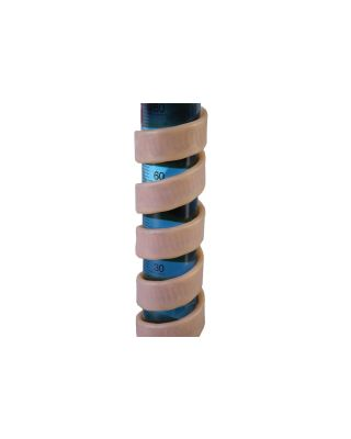 BRISKHEAT BS0-G GROUNDED SILICONE RUBBER HEATING TAPES
