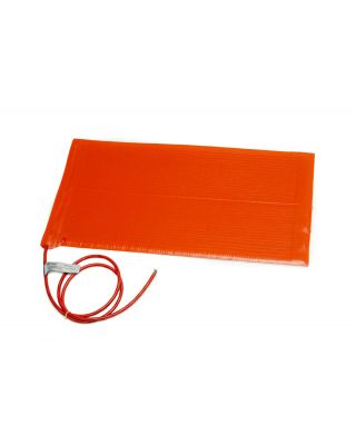 Briskheat SRL / SRP Silicone Rubber Heating Blanket; SRP Series - No PSA for Plastic