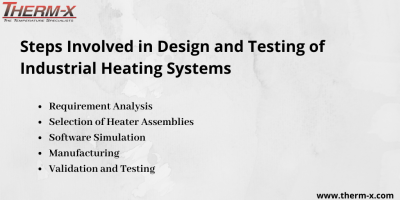What Are the Different Steps Involved in Design and Testing of Industrial Heating Systems?