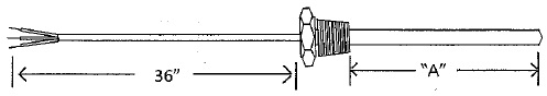 810 series rtd probes