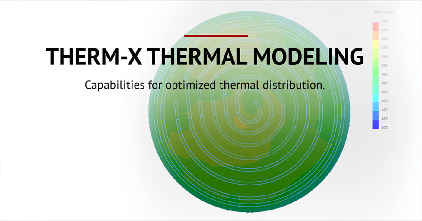 Therm-x Thermal Modeling - Capabilities for optimized thermal distribution